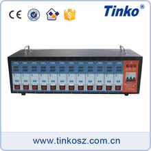 Tinko 12 zone injection thermometer intelligent temperature controller for hot runner system HRTC-12A