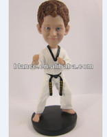 customized resin taekwondo sports figurine