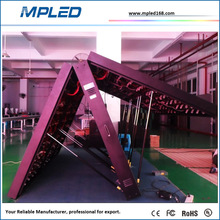 High precision front-service P10 outdoor full color led display for shopping mall