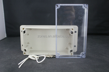factory price wall mounting watertight clear cover housing