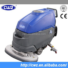 Automatic electric hand held floor scrubber supermarket and hospital use