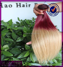 Dyeable cheap 100% real human silky straight ombre hair lima peru peruvian hair