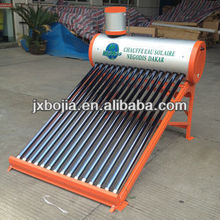 OEM Vacuum Tube Compact Non-pressure Solar Water Heater, hot water heaters.