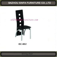 Wholesale Modern PVC Leather Metal Luxury Hotel Dining Room Chair,For Young People