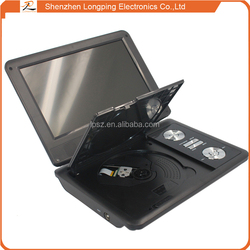 Made in China best selling portable TV with AV input, Kids portable DVD players