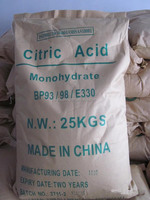 Hot Sale Citric Acid monohydrate manufacture in China