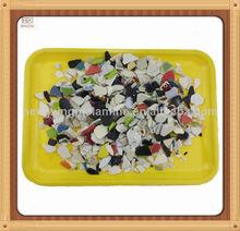desechos de plástico