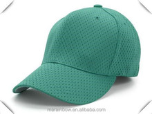 Fitted Solid Color Blank 100% Polyester Dry Fit Athletic Mesh Baseball Caps OEM Cheap Wholesale Baseball Caps