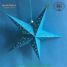 2015 hot new products Christmas paper star lantern ligt