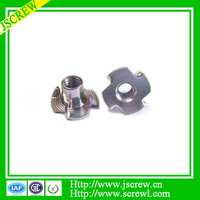 ROHS standard color zinc plated galvanized T-nut