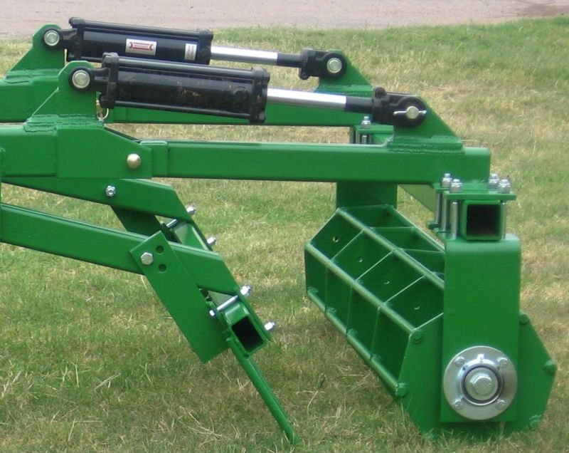 Hydraulic Rams For Tractors : Clevis rod ends tie hydraulic cylinder for tractor
