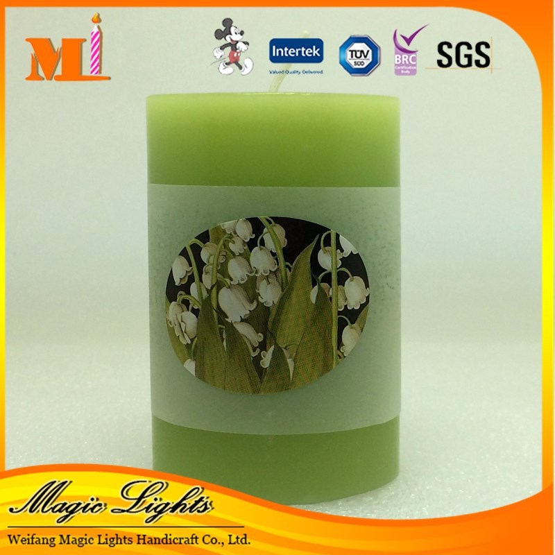 Lavender Scented Pillar Candle For Sale - Buy Art Candle,Scented ...