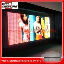 P10/12 LED transparent led curtain light/Led Video Screen Hire