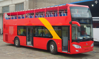 open top double decker sightseeing bus for sale
