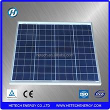 Polycrystalline solar panel 50W with CE certified