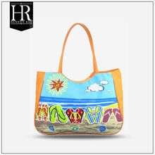 with 10 years manufacture experience rubber beach bag