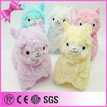 2015 various kinds of cute soft sheep for kids