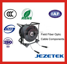 Champ Fiber optique câble composants assemblée