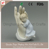 Polyresin Angel Wholesale For Home Decoration Porcelain Statue