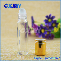 CXWN hot selling High-grade roll on glass bottle clear glass bottle small glass bottles for perfume packaging