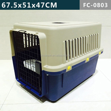 Folding Pet Dog Cat Crate Cage Kennel With free crate tray