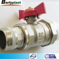 High quality water gas stove switch safety brass valves