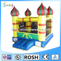 pretty jumping inflatable lantern mini bouncer castle for sale