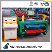High value High Quality steel tile roll forming machine color steel roof sheet auto bending machine
