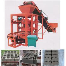 the HF QTJ4-26 SEMI AUTOMATIC concrete brick making machine production