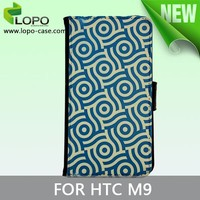 sublimation leatherfabric case for HTC one M9