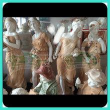 stone marble famous four seasons god sculpture