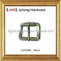 Adjustable metal bag buckle for bags