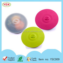 Heat resistant microwave silicone pot cover silicone sealing cover