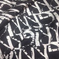 75D 100% polyester chiffon print fabric for dress