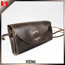 Saddle leather clutch bag for men and woman wallets purse bag clutch frame