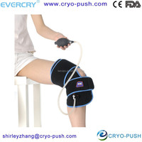 Body Med Cold Therapy Wrap Compression for Knee Gel Packs Included