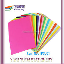 neon or fluorescent color paper,fluorescent paper