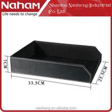 NAHAM Office Decor Desk File Storage File Letter Paper Tray