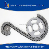 cheap motorcycle sprocket,150cc motorcycle sprocket,motorcycle spare part chain and sprocket