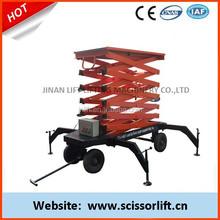 Mobile Scissor Lift Manufacturer / Stationary Scissor Lift Table