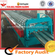 YUFA high-strength 720 Automatic Control Floor Decks Roll Forming Machine