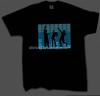 Sound Actived Equalizer el t shirts /led t shirt wholesale with custom logo