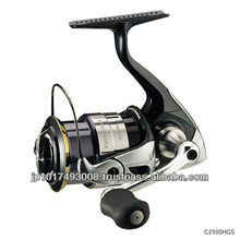 Japanese quality Daiwa spinning reels for Bass anglers