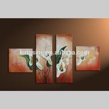 pintura al óleo para sala de estar de la decoración de la pared