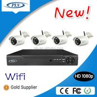 2.1 megapixel 4ch ip66 waterproof digital hd surveillance 1080p camera and recorder system dvr outdoor