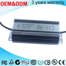 high quality 10w 20w 30 w 50w 70w 80w 100w constant current waterproof led driver for flood light ,street light