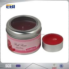 Professional design aluminum candle jars
