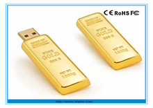 Promotion gift bulk usb 3.0 flash memory stick pen drive disk 8gb golden bar