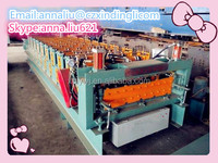Full automatic roll production line/wafer roll machine/double deck color roll machine