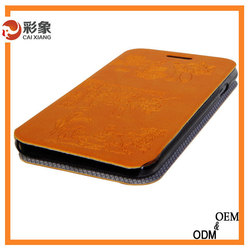 Alibaba trade assurance For Huawei Ascend P7 cover Flip Wallet Leather Cover Case with Stand